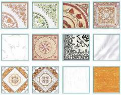 Floor Tiles-White Glossy Series