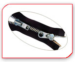 Zippers for shoes,  bags,  garments