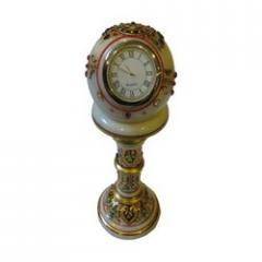 Marble Gold Painted Pillar Watch