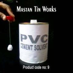 Round Tin Containers with Dabber Suitable for PVC