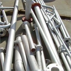 Steel Matt Polish Pipes
