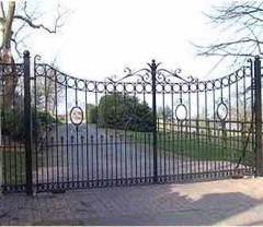 Wrought Iron Entrance Gate