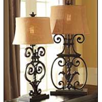 Metal Lamp Bases