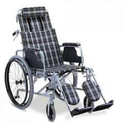 Straight Reclining Wheelchair