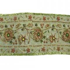 Embroidery Border Fabrics