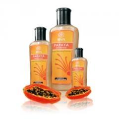Papaya shampoo