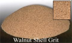 Walnut shell grit