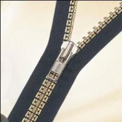 Silver Antique Zip