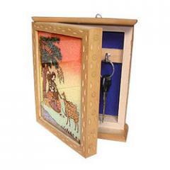 Wooden Key Holde