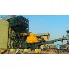 Portable Type Crushing And Screening Plant