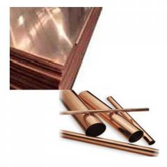 Copper sheets and plates