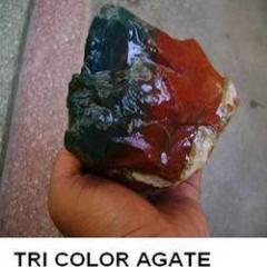 TRI Color Agate