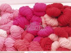 Raw yarn