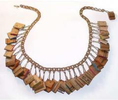 Wooden Fashion Jewelry