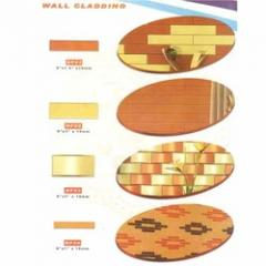 Facade wall cladding