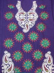 Chanderi Embroidery dress materia