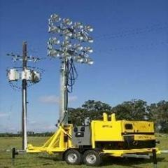 Mobile Lighting Masts