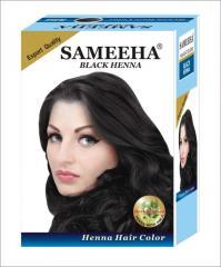 SAMEEHA BLACK HENNA HAIR COLOR