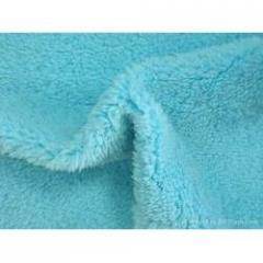 Grey (Raw Fabric) Polyester Velvet Fabrics