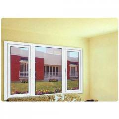 Combination Window With Single And Double Glazing