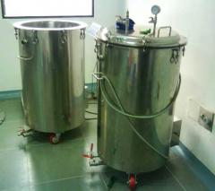 Stainless Steel Holding Tank