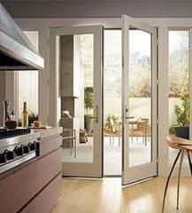 Aluminium casement doors
