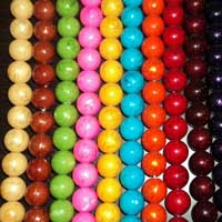 Colored Plastic Beads