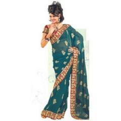 Fancy Border Wedding Saree