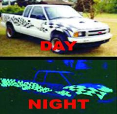Night Glow Vinyl Film & Signage