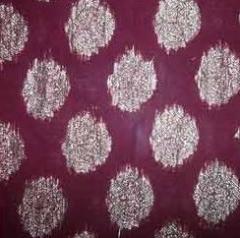 Nylon fabric for saree