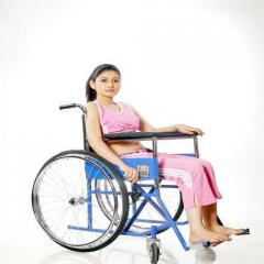 Folding Wheel Chair Deluxe