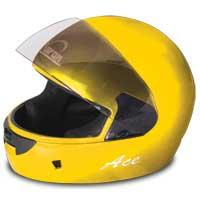 Ace Plain Full Face Helmet