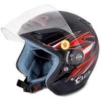 Cruz Decor Open Face Helmet