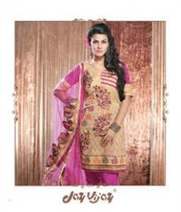 Border Embroidery Dress Material