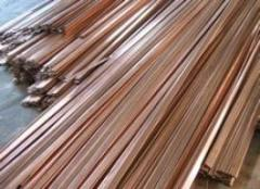 Mica Covered Rectangular Copper Strips