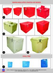 Plastic Insulated ICE box
