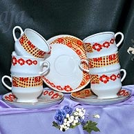 Cup And Saucer Chain Series