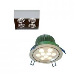 Surface Down Lights For Cfl/Pl/Led Lamps