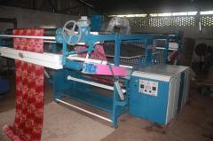 Hydraulic decatising,  decatizing machine