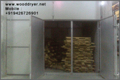 Heat treatment Plant for wood Packaging material