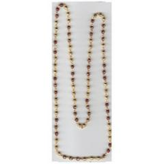 Golden Chain Mix Long-Round Bead