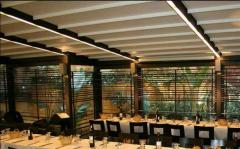 Outdoor shade systems - Retracteble awning system