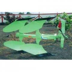 Reversible Hydraulic Plough
