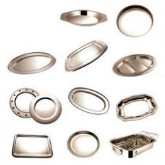 Stainless Steel Tray & Plate