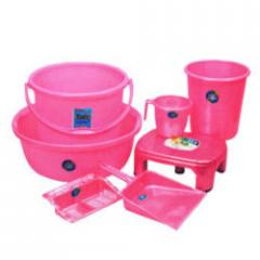 Plastic Bathroom Sets