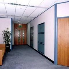 Commercial Aluminum Partition