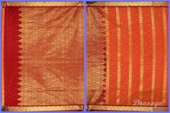 Art Silk Sarees ( Half Silk ) HSB4007