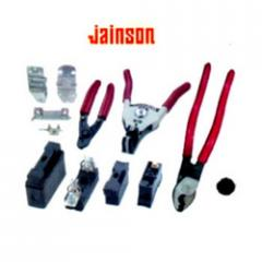Jainson Bakelite Fuse Fittings, Hinges, Wire Stripper & Cable Cutter