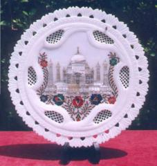 Inlay plates