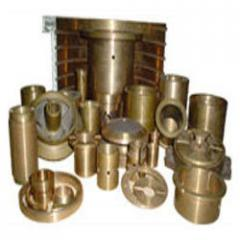 Common components and spare parts for different machinery and mechanisms